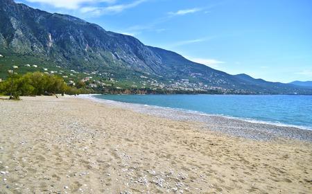 messinia: Verga beach at Kalamata Messinia Peloponnese Greece