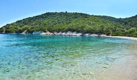 ionio: Filiatro beach Ithaca Ionian islands Greece Stock Photo