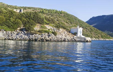 ionio: saint Andrew chapel Ithaca Ionian islands Greece