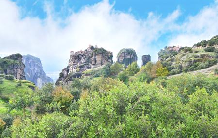 kalabaka: the old monasteries of Meteora Greece - Orthodox religious places