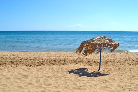 ionio: landscape of Glyfa beach at Ilia Peloponnese Greece