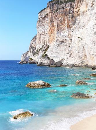 ionio: landscape of Erimitis beach Paxos Ionian islands Greece Stock Photo