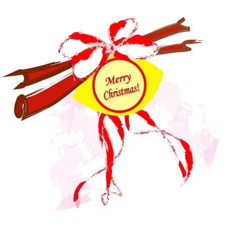 decorative Christmas ornament vector illustration