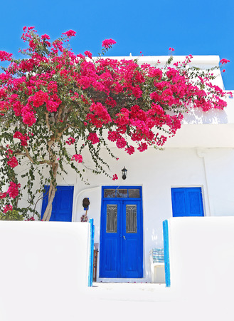 traditional house at Ano Koufonisi island - Mikres Cyclades Greece