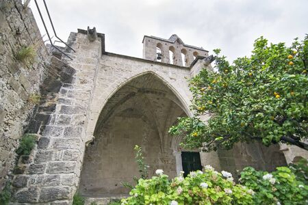 Bellapais Abbey in Northern Cyprus - famous religious landmarks