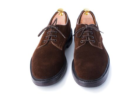 men brown dress shoes