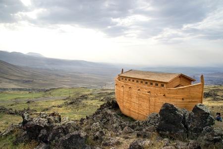 Noah's Ark model Standard-Bild