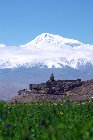 armenia:  Mount Ararat                      Stock Photo