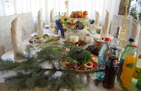 sturgeon: Armenian traditional table with Sturgeon