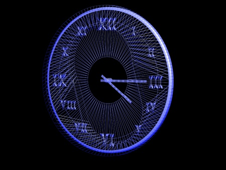 abstract clock photo