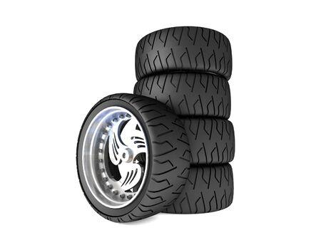 New wheels Stock Photo - 16868722