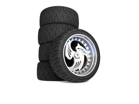 New wheels Stock Photo - 16868671