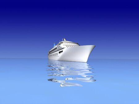 luxury yacht photo