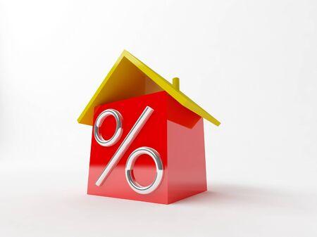 Big Percent Stock Photo - 16956730