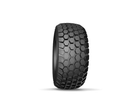 New tyre for truck with shadow isolated on white Stock Photo - 17295706