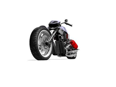 modern motorcycle Stock Photo