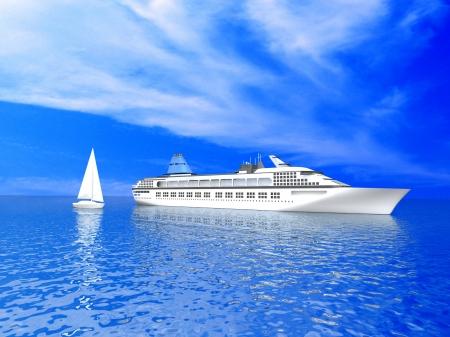 Luxus-Yachten Standard-Bild - 17296056