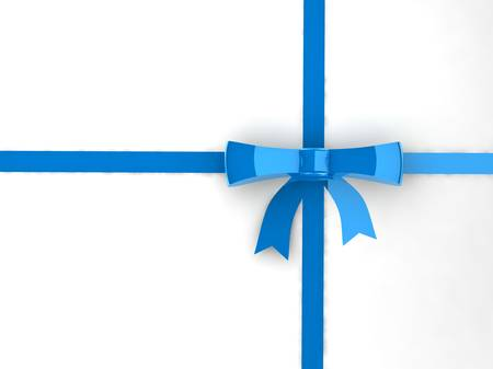 Bow with ribbons Stock Photo - 17409453