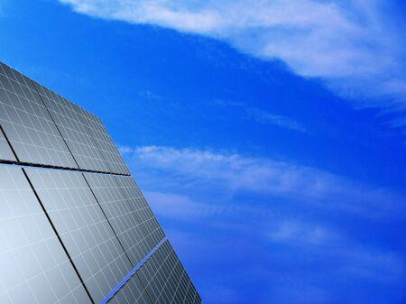 Solar panel against blue sky. Concept - echo energy. Stock Photo - 17720827