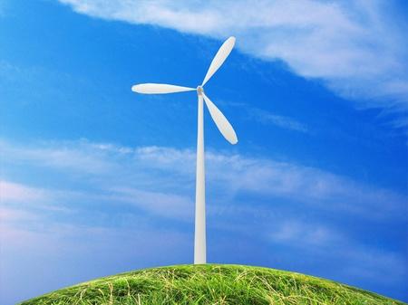 eco energy metaphor Stock Photo - 17986996