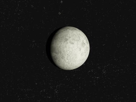 Moon with stars Stock Photo - 19834672