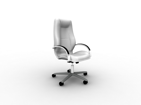 grayscale office easy chair Stock Photo - 22560123