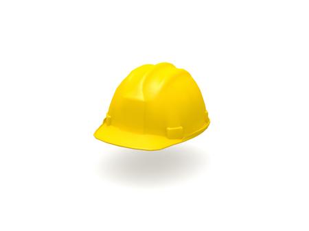 3D Sombrero amarillo duro Foto de archivo - 24491678 91abdaeda2e