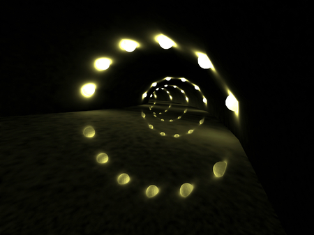3D Tunnel. photo