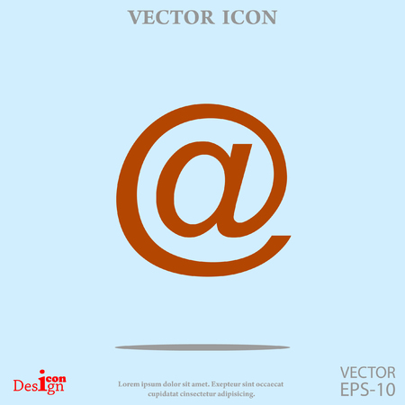 email icon: email vector icon Illustration