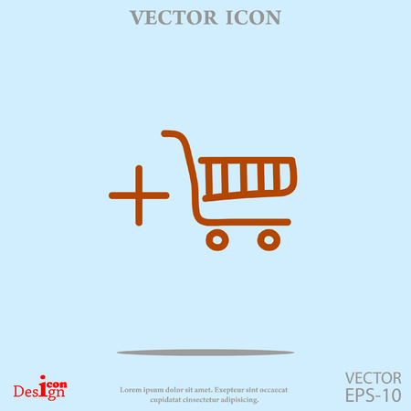 shopping chart: shopping chart vector icon