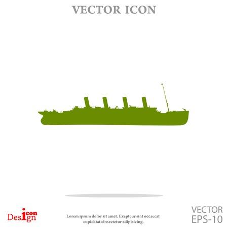 ship vector icon