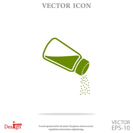 salt: salt vector icon Illustration
