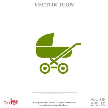 pram vector icon