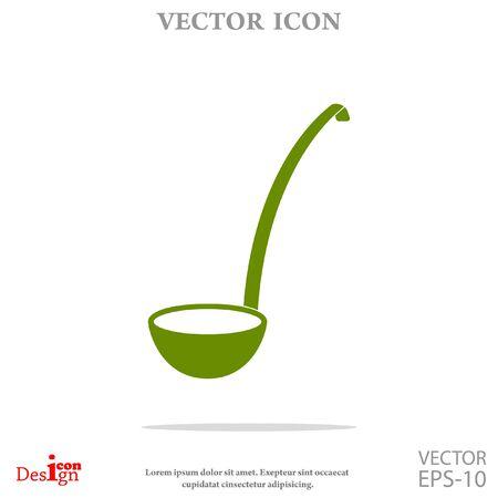 ladle: ladle vector icon
