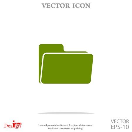folder icon: folder vector icon