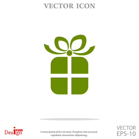 gift icon: gift vector icon