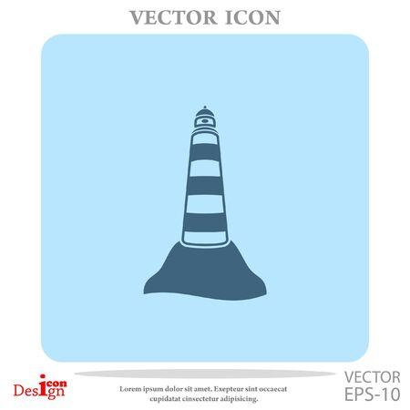beacon vector icon