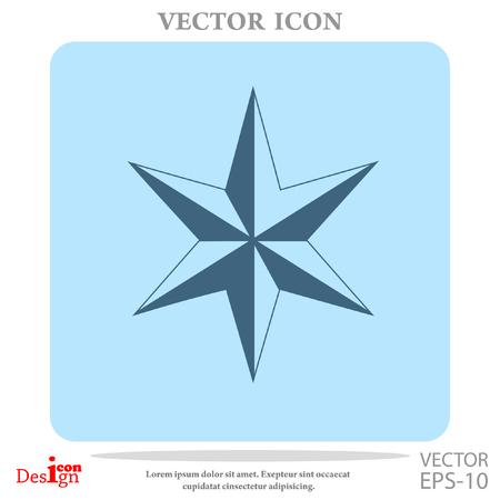 zion: star of David vector icon