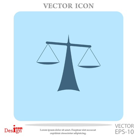 lawsuit: Justice vector icon