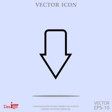 arrow vector icon