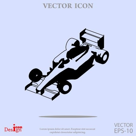 Sportwagen-Vektor-Symbol