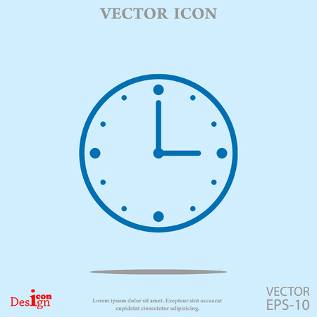 clock vector icon