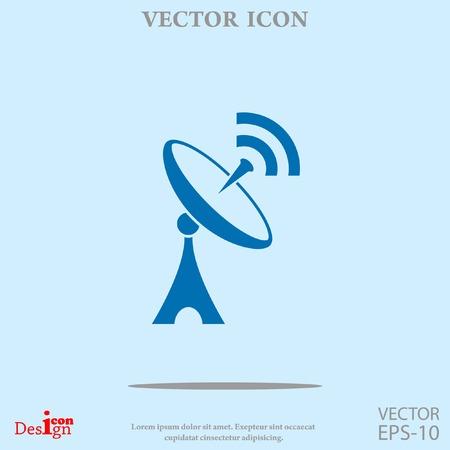 アンテナのベクトル アイコン  イラスト・ベクター素材