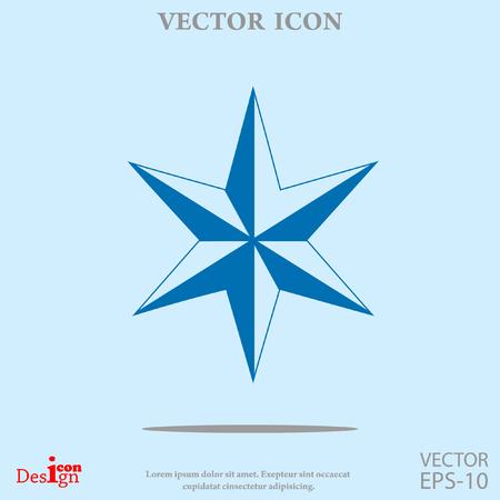 hannukah: star of David vector icon