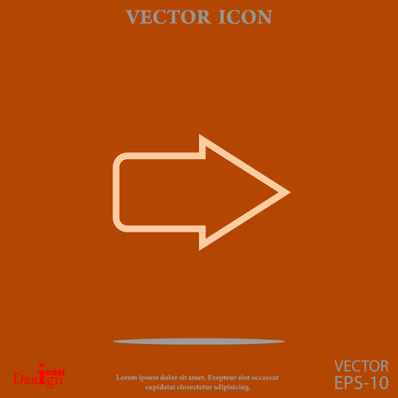 page down: arrow vector icon
