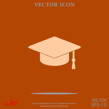 graduate vector icon