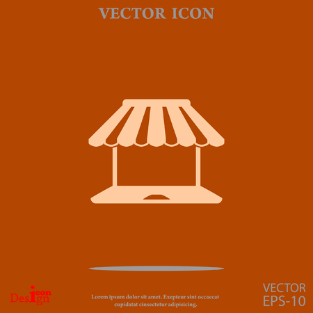 shopping vector icon