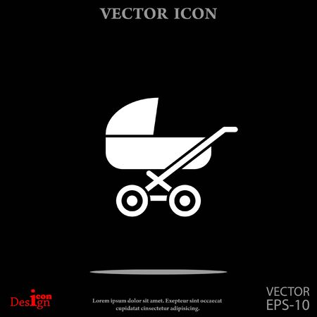 pram: pram vector icon