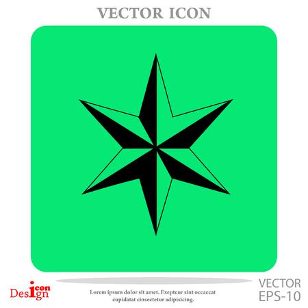star of David vector icon