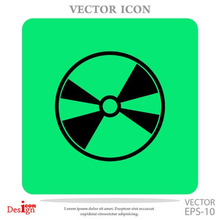 disc: DVD disc vector icon